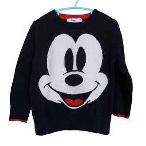 DISNEY Black Long Sleeve Sweater 2 yrs